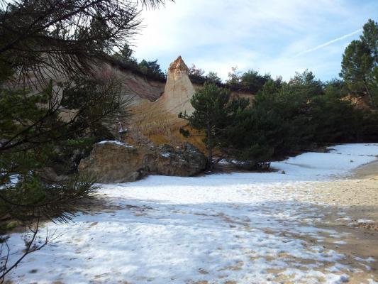 Le Colorado Provençal - Le Désert Blanc doublement bien nommé !!!